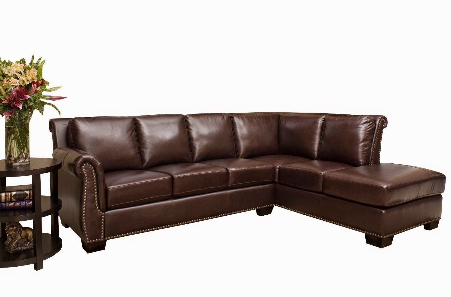 sectional sofa: leather sectional sofa