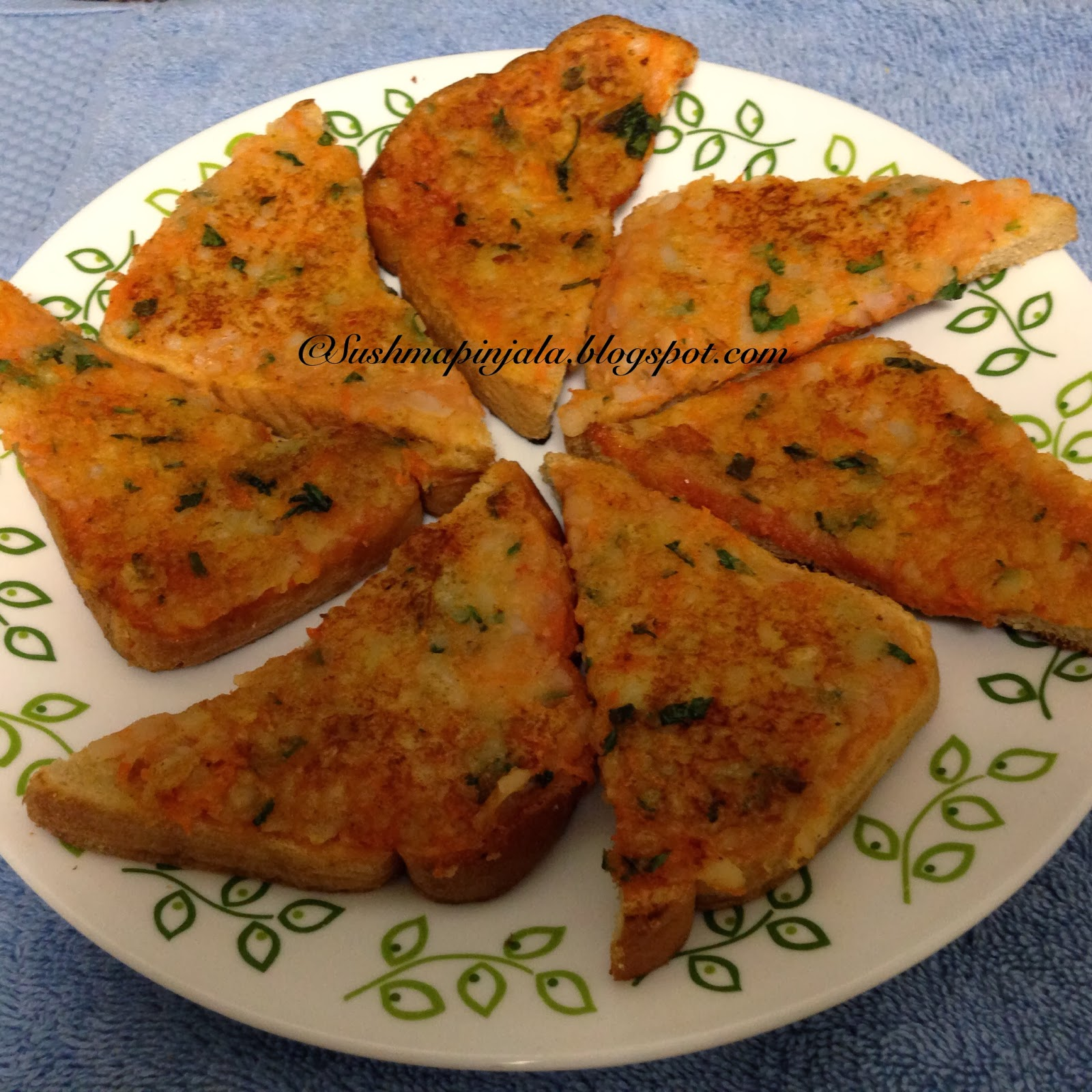 Potato Toast / Potato Sandwich