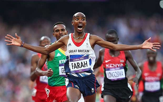 I thought they said rum: Movie Monday: Mo Farah interview