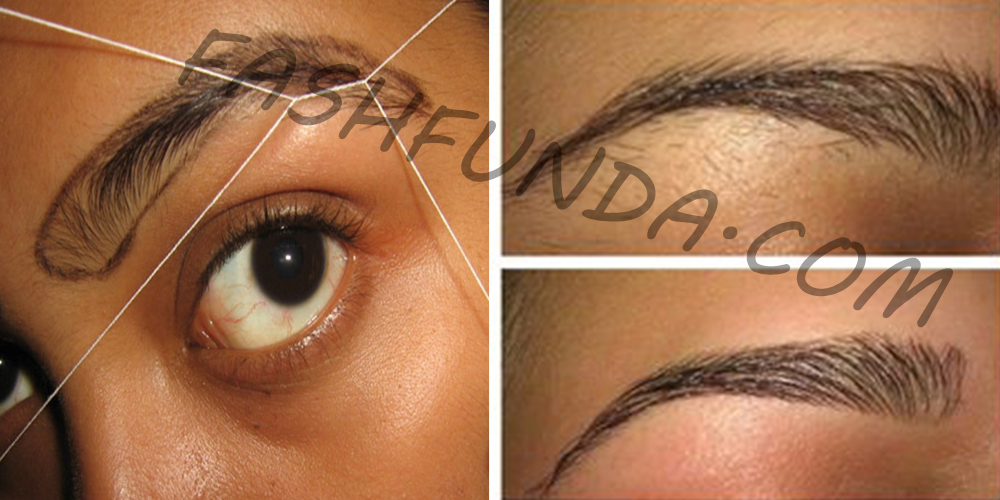 Best Eyebrow Threading With Perfect Shape Life With Styles