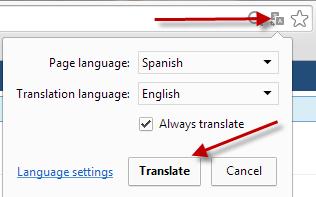 terjemahan otomatis google browser