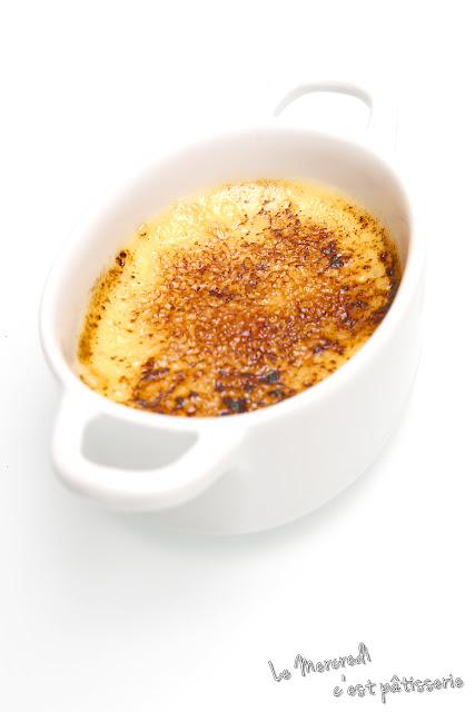 Crème brûlée vanille de Paul Bocuse