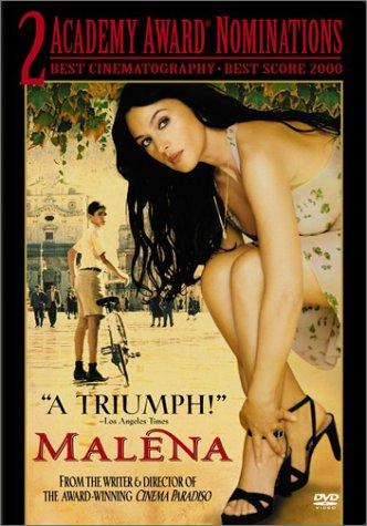 Poster of Malena 2000 UnCut 720p Italian BRRip Full Movie Download With ESubs