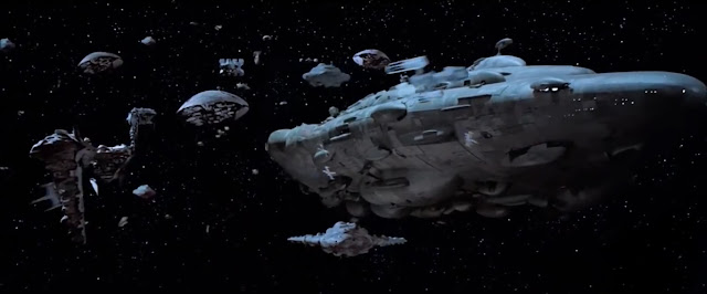 Rebel Alliance Fleet at the battle of Endor.