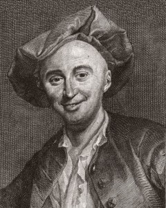 O filósofo francês Offay de La Mettrie