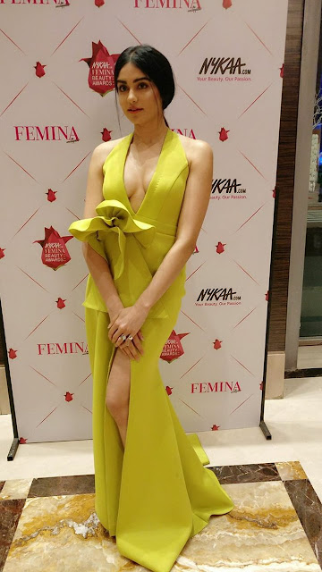 Adah Sharma Hot Stills at Femina Beauty Awards 2017