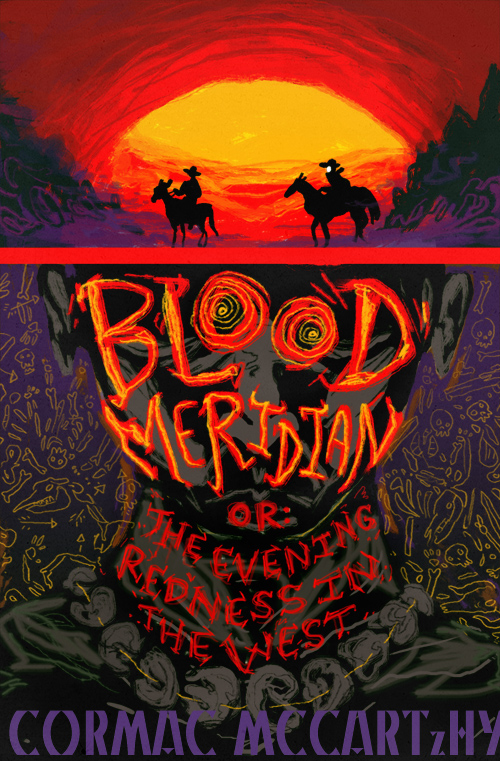 Book cover for Cormac McCarthy's Blood Meridian in the South Manchester, Chorlton, and Didsbury book group