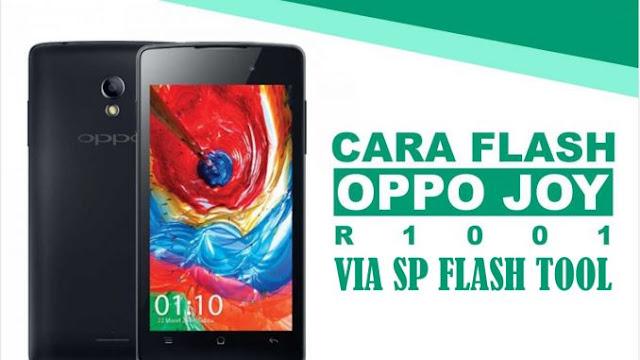 Cara Flash Oppo R1001