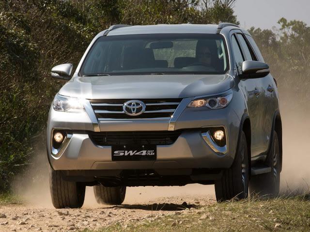 Toyota Hilux SW4 Flex 2017 - Preço