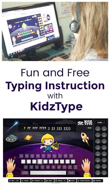 Fun and Free Typing Lessons with KidzType