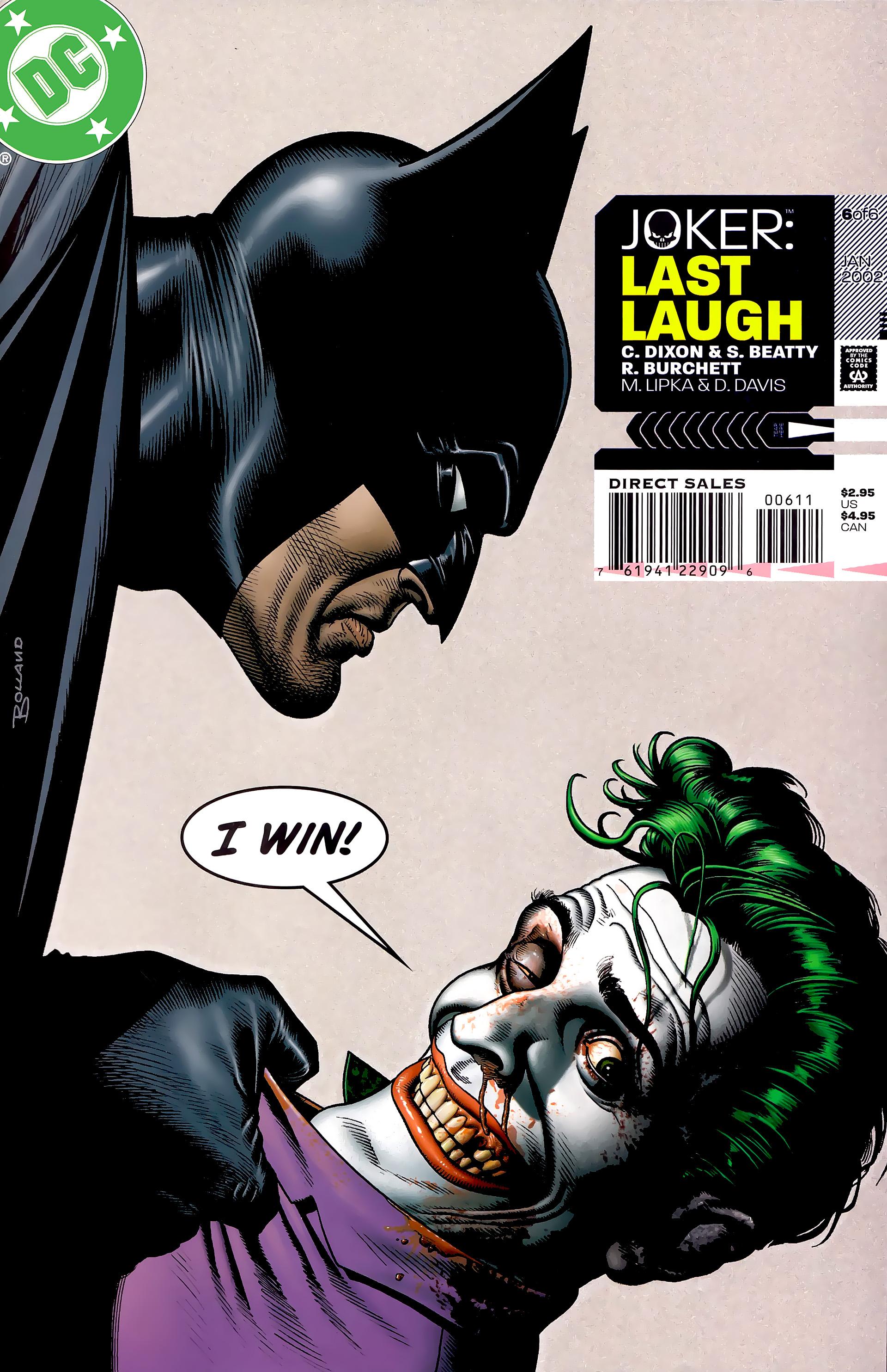Joker: Last Laugh 6 Page 1