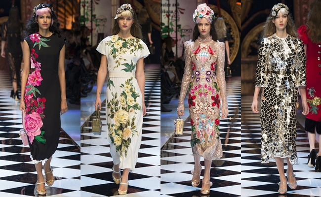 Best of MILAN fashion week Fall 2016.Nedelja mode u Milanu 2016.Milan FW fall 2016:Dolce & Gabbana.