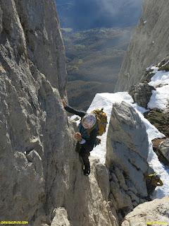 Guias de picos de Europa , Fernando Calvo Guia de alta montña UIAGM crestas alpinas y escaladas