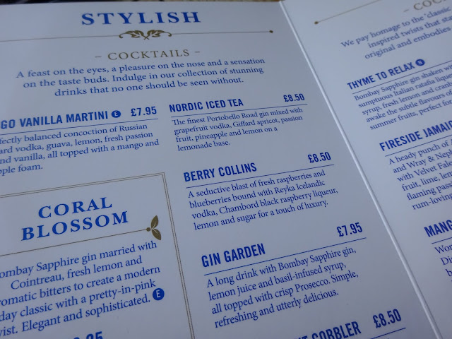 Stylish Cocktails at Banyan Manchester