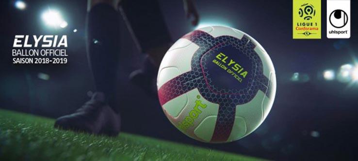 uhlsport Elysia Ballon Officiel Ligue 1 2018//19