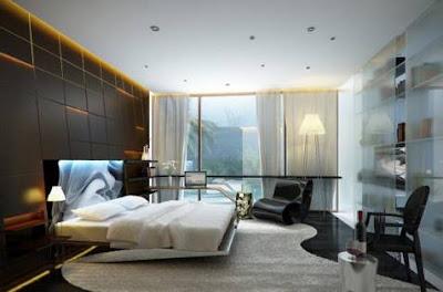 Dekorasi Kamar Tidur Kontemporer Menakjubkan