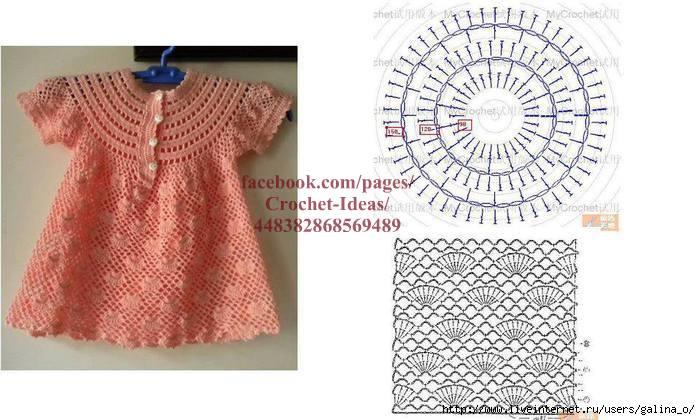 558020c9ce070 Örgü Bebek Elbise Modeli | Hobilendik