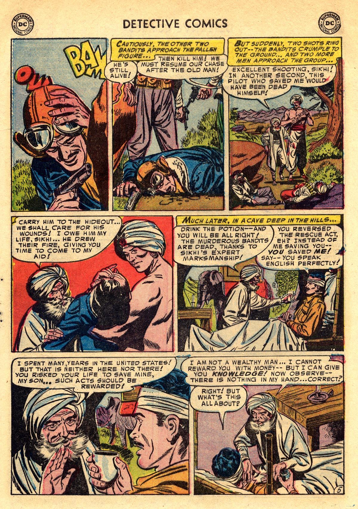 Read online Detective Comics (1937) comic -  Issue #203 - 38