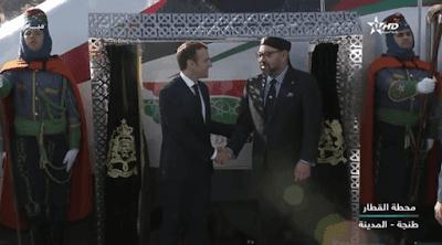 """بالفيديو. الملك محمد السادس يطلق أول رحلة لـ """"تي جي في"""" المغرب"""