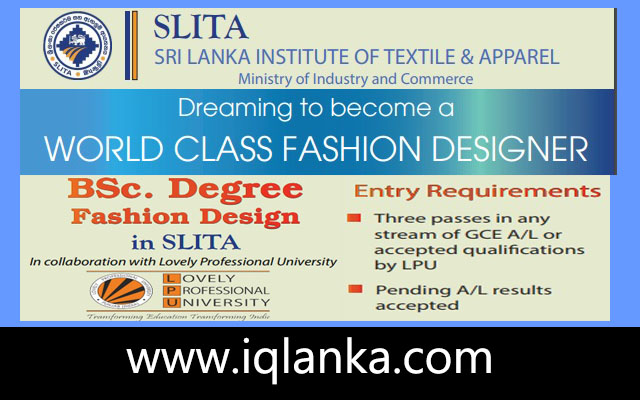 Become Fashion Designer Iqlanka Com