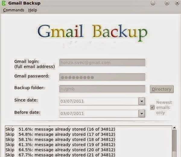 6. बैकअप मैसेज (Back up Message)