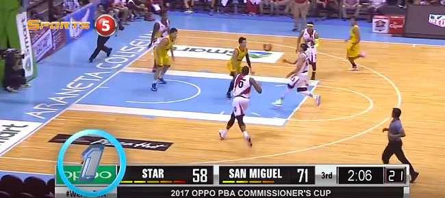 PBA Top 5 Plays of the Week (VIDEO) Commissioner's Cup 2017