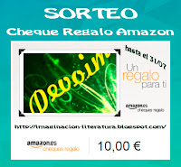 Sorteo Cheque Regalo Amazon [Blog Deja volar tu imaginación]