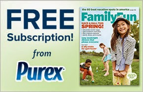 purex family fun sunscription giveaway banner