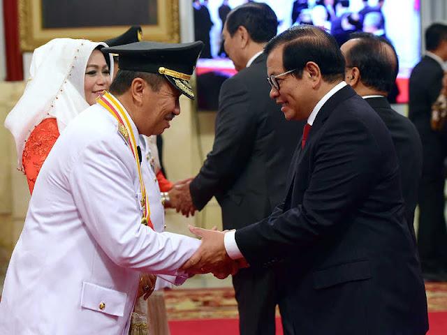 Syamsuar dan  Edy Nasution akan Cegah Kebakaran Hutan di Riau