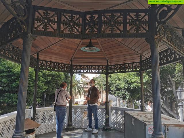 El Ayuntamiento de Santa Cruz de La Palma elabora los pliegos para la licitación del quiosco de la Alameda