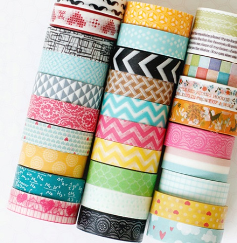 washi tape atau decorasi tape