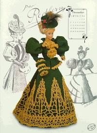 Crochê Para Barbie - Roupas de Luxo em Crochê Para Bonecas- 20 Revistas