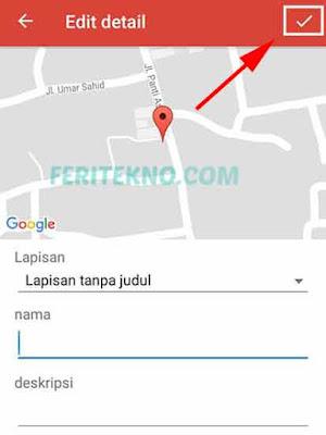 Cara Menambahkan Tempat di Google Maps Android 8