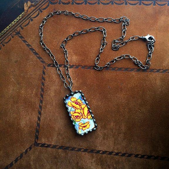 Broken China Jewelry by Laura Beth Love