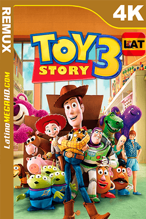 Toy Story 3 (2010) Latino Ultra HD BDRemux 2160P ()