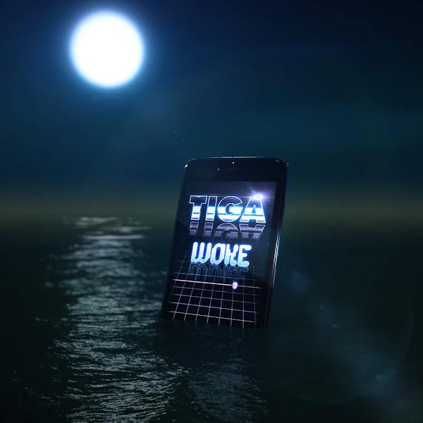 Tiga - Woke - Single Cover