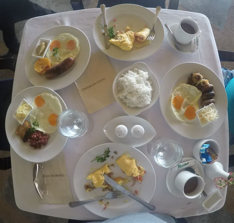 Breakfast buffet at Atmosphere Resorts & Spa