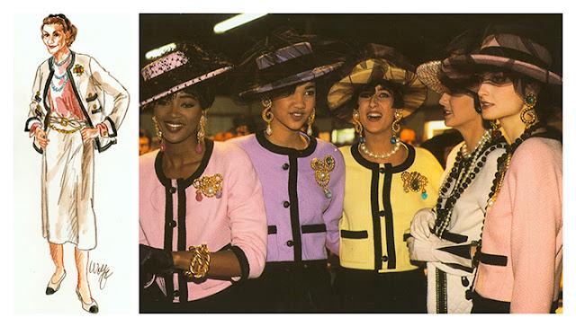 Chanel fashions