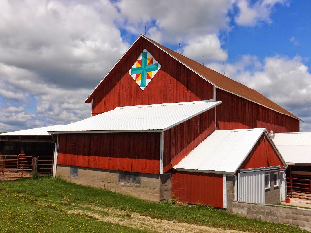 Barn Quilts And The American Quilt Trail A Wealth Of Barn