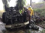 [TAWAU] Kereta terjunam ke jurang, warga tua terbunuh
