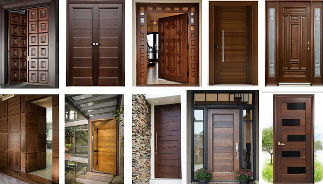 Wooden main door design ideas - Decor Units