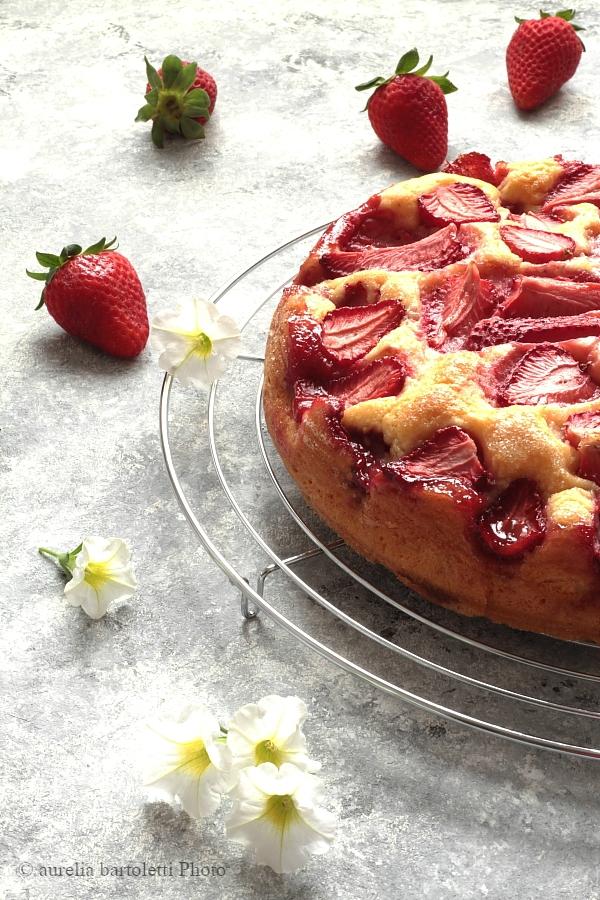 Profumi In Cucina Torta Alle Fragole E Yogurt