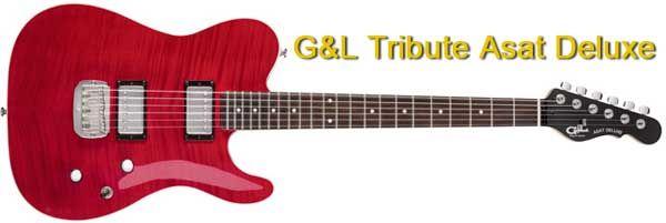 Guitarra Telecaster con dos Pastillas Humbucker G&L Tribute Asat Deluxe