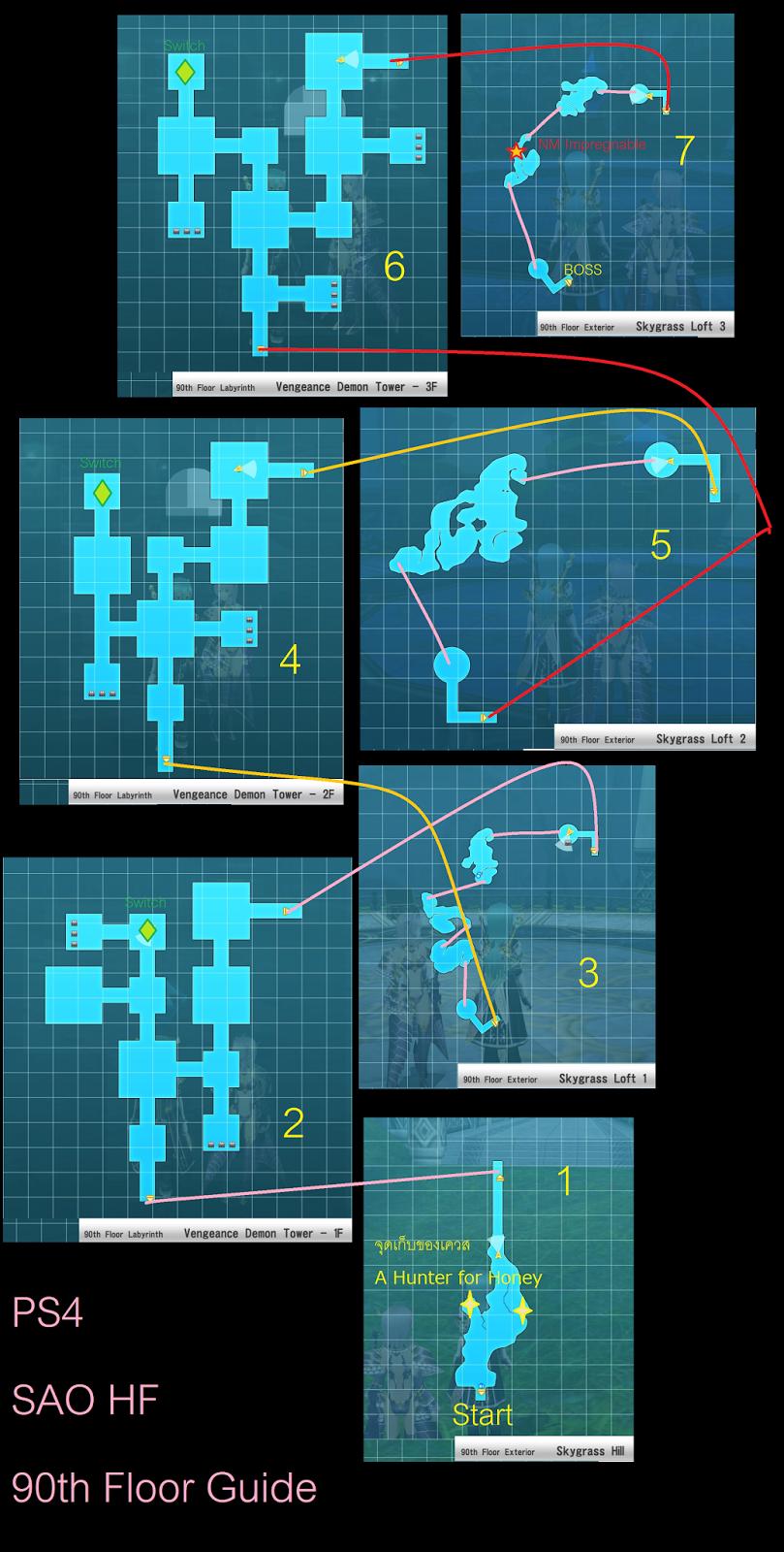 Hatsunu Mike: Sword Art Online : Hollow Fragment Aincrad 90th Floor