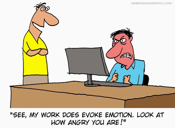 Provocation of Emotions in Job Very Funny Humor Cartoon Jokes