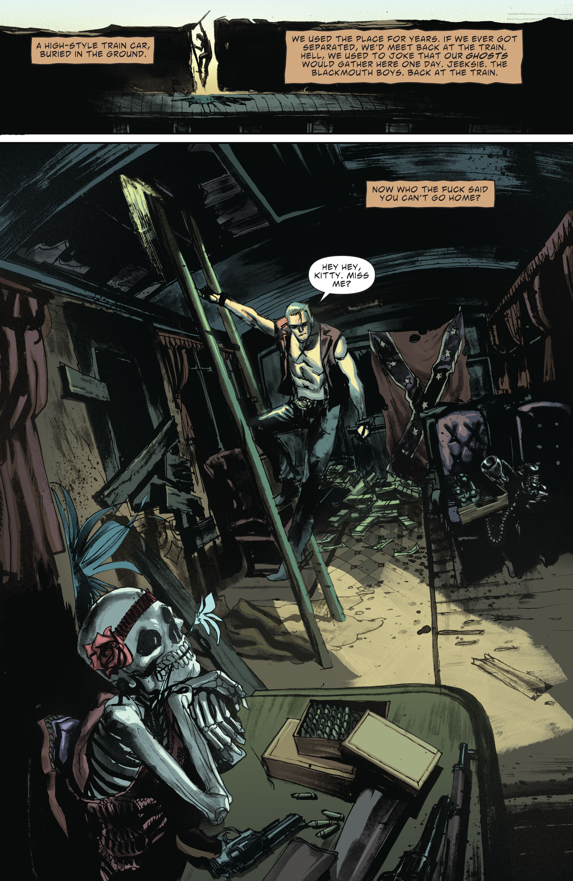 Read online American Vampire: Second Cycle comic -  Issue #1 - 21
