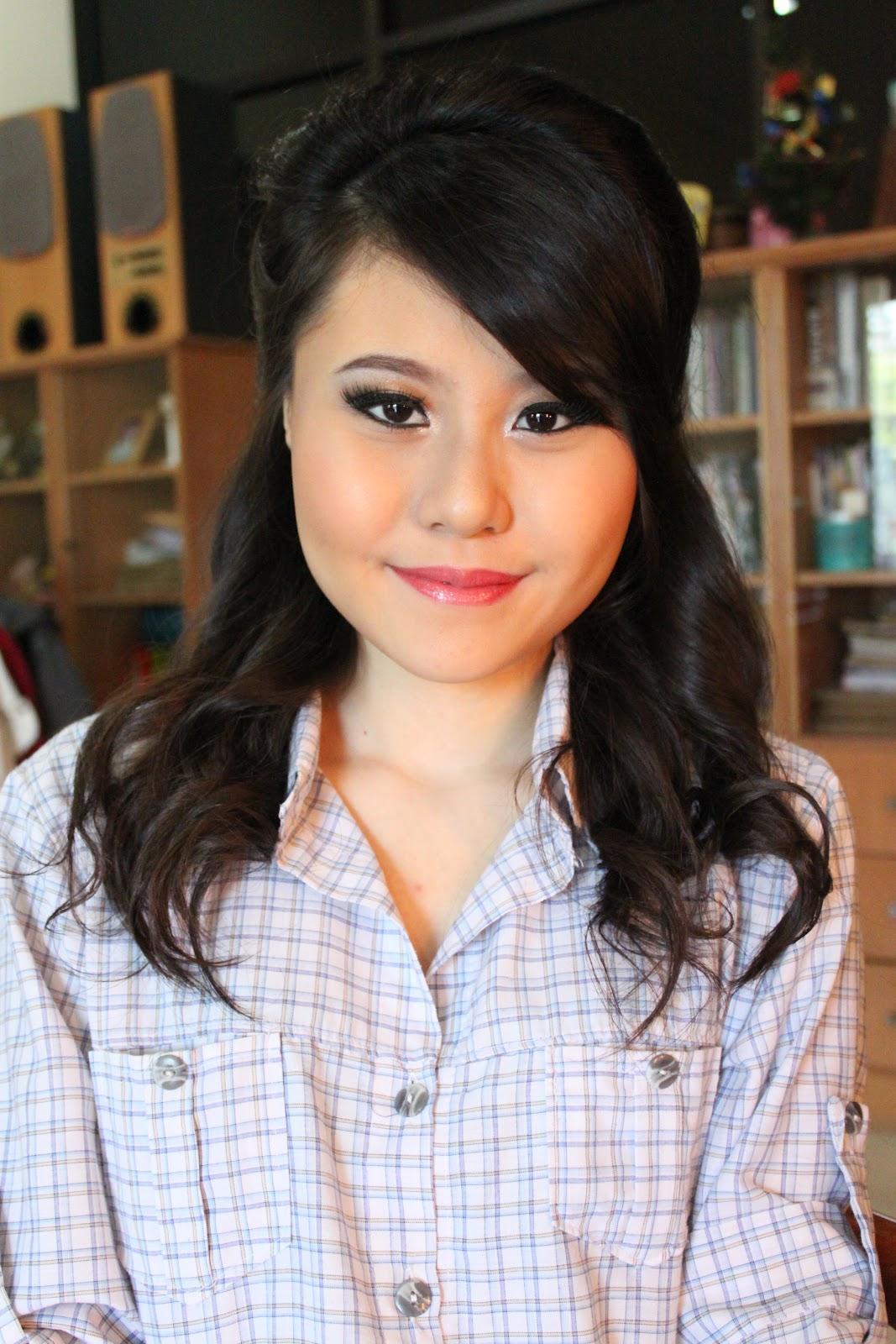 Am Katarina Model claudia setiawan: katarina makeup for party