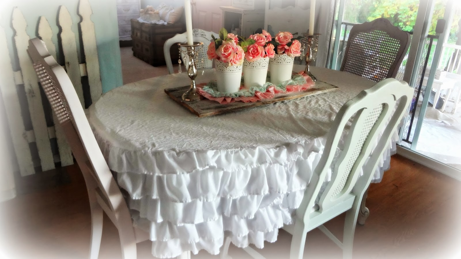 For The Love Of White Pastel Dining Chairs