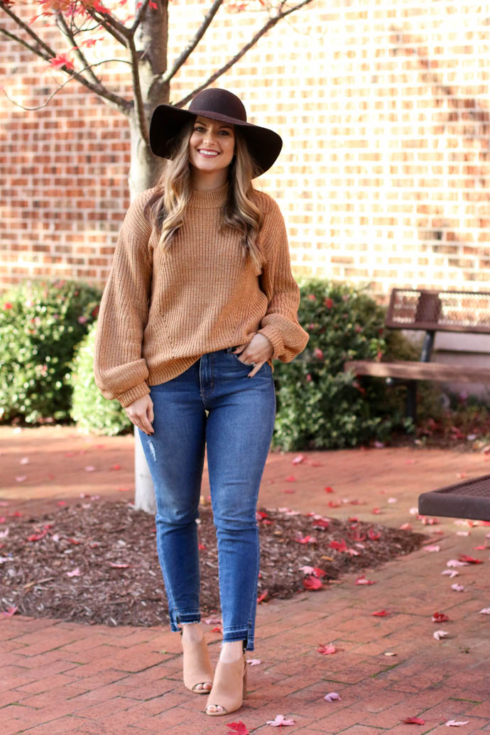 gold glitter sweater, fall outfit ideas, fall outfit 2017, amanda sumner, the girlish blog, girl(ish), fall trends 2017