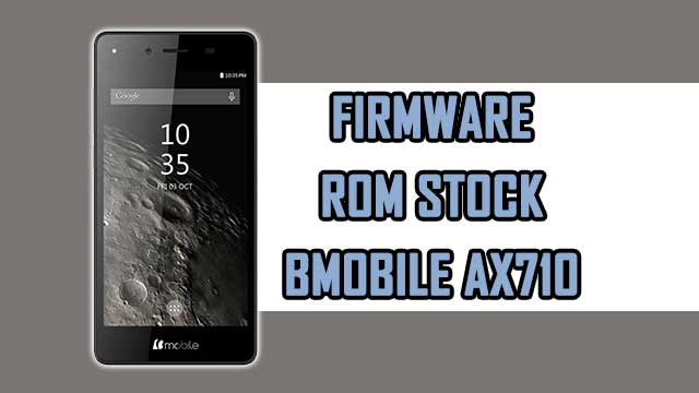 Firmware - rom stock Bmobile AX1070